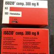 Фото препарата Изозид Германия (аналог Фтизоактив) 300мг 60мг таблетки №100