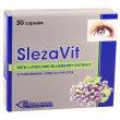 Фото препарата Слезавит, SlezaVit, витамины для глаз капс. №30