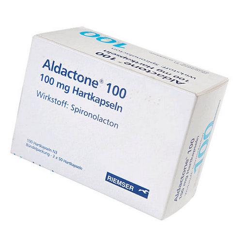 Купить Альдактон Германия 100мг №100 (100 капсул) в Москве