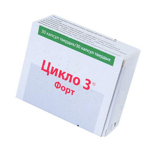 Купить Цикло 3 форт капсулы N30 в Москве