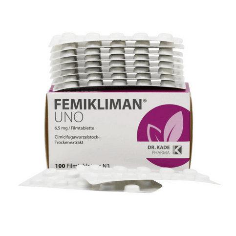 Купить Фемиклиман уно (Femikliman Uno) таблетки №100 в Москве