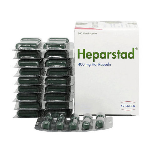 Купить HeparStad, Артишок экстракт 400 мг (аналог Холагогум) капсулы №100 в Москве