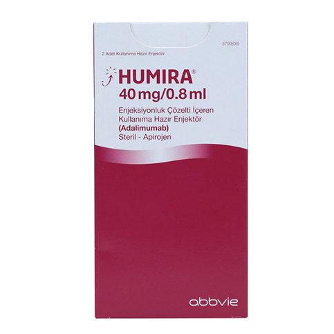 Купить Хумира раствор для инъекций 40мг 0,8мл 2 шприца в Москве