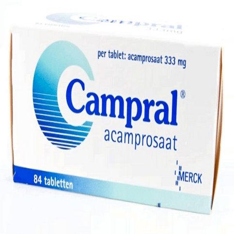 Купить Кампрал (Сampral, Акампросат) таблетки 333мг №84 в Москве