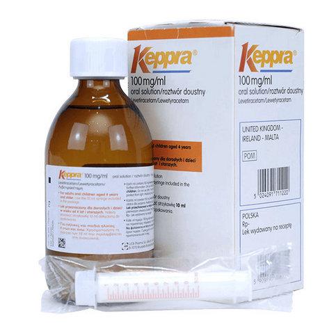 Купить Кеппра сироп 100 мг/мл 300 мл в Москве