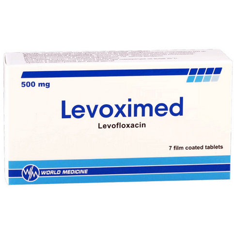 Купить Левоксимед (Levoximed) таблетки 500мг №7 в Москве
