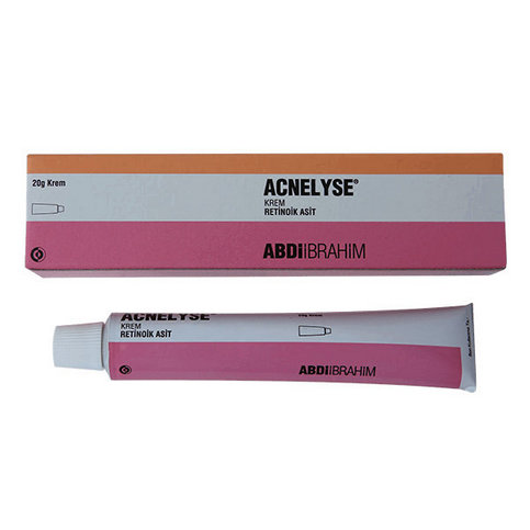 Купить Акнелис Acnelyse (аналог Ретин-А, retin a) крем 0,1% 20г в Москве