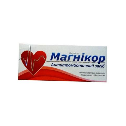 Купить Магникор (Magnicor) 75 таблетки №100 в Москве