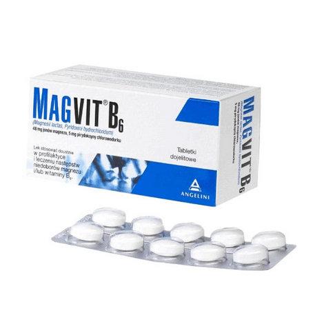 Купить Магвит В6 (Magvit B6) табл. №50 в Москве