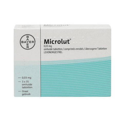 Купить Микролют (Microlut) таб. 0,03мг 35шт в Москве