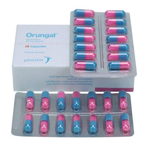 Купить Орунгал 100 мг капс. №14 в Москве