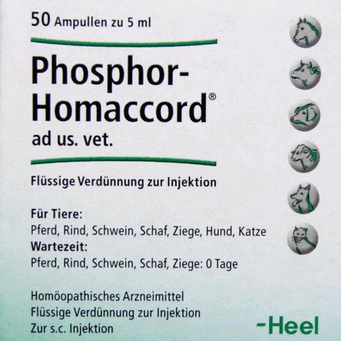 Купить Фосфор гомаккорд для собак (Phosphor-Homaccord Heel) ампулы №50 в Москве