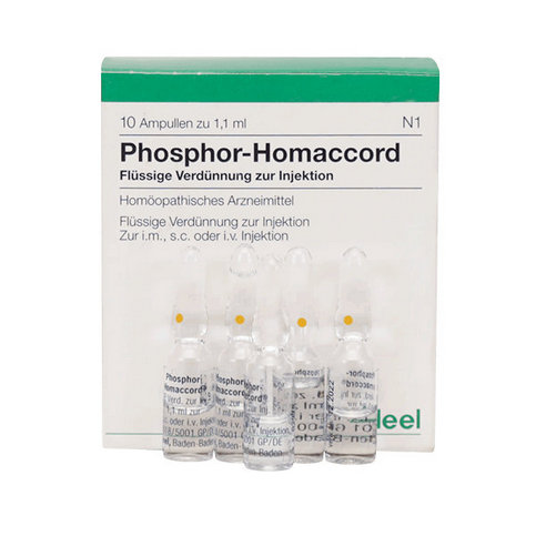 Купить Фосфор гомаккорд Хеель (Phosphor-Homaccord) амп 10шт в Москве