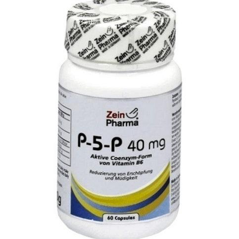 Купить Пиридоксаль-5-фосфат (P-5-P) 40мг капс. №60 (60 капсулы) в Москве