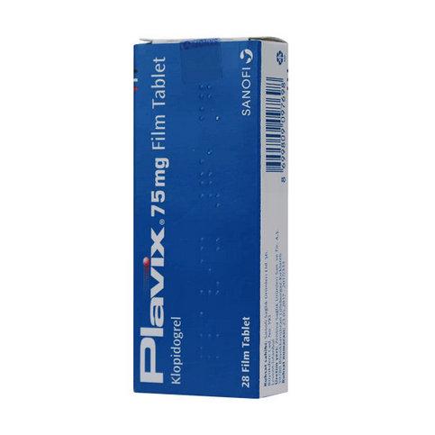 Купить Плавикс 75мг №28 (28 таблеток/упаковка) в Москве