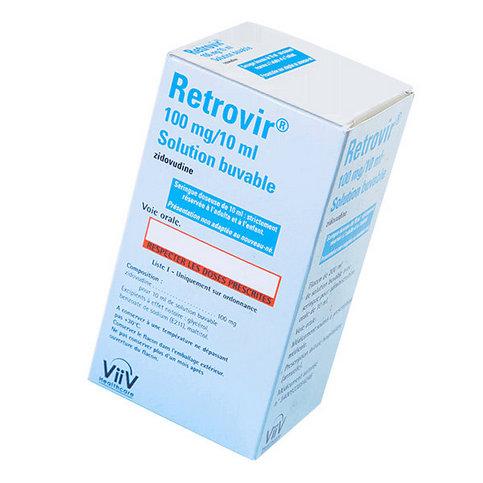 Купить Ретровир сироп для новорожденных 100мг/10мл флакон 200мл в Москве