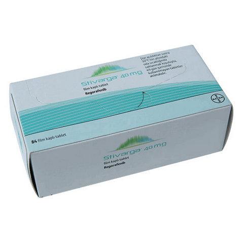 Купить Стиварга (Регорафениб, Stivarga) таблетки 40мг 84шт в Москве