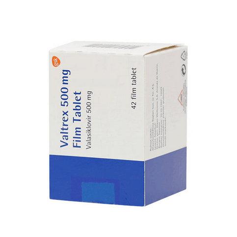 Купить Вальтрекс (Валтрекс) таб. 500 мг N42 в Москве